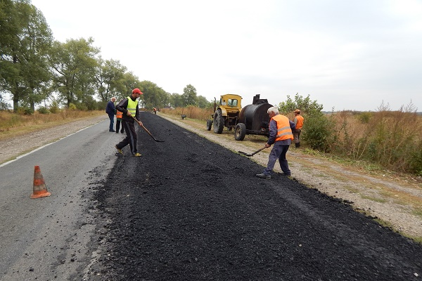 Відремонтували дорогу Тернопіль-Ланівці