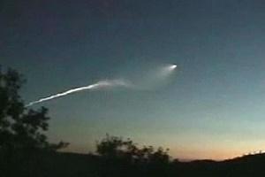 Очевидець зафільмував вогняний НЛО (Відео)