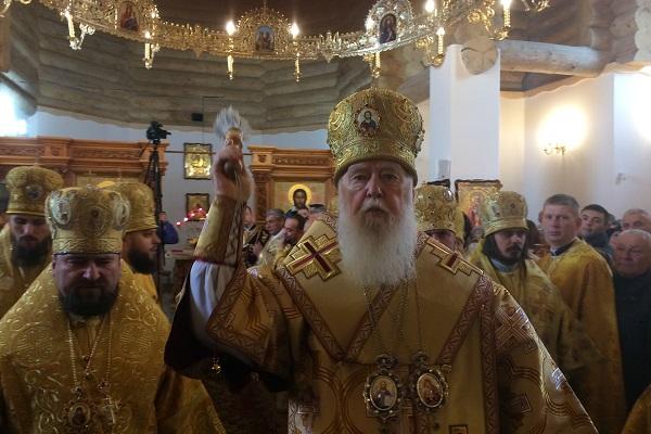 Патріарх Філарет освятивцеркву свв. Бориса та Гліба в Тернополі (Фото, відео)