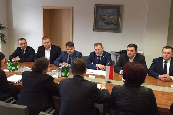 Голова обласної ради перебуває з візитом у Підкарпатському воєводстві у Польщі