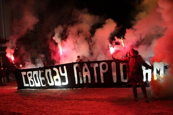 Масштабною смолоскипною ходою, фаєр-шоу та народним віче молодь «Соколу» зі всієї України відзначили свій 123-ю річницю у Тернополі (Фоторепортаж)