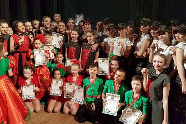 Гран Прі уТернопіль привезла студія сучасної хореографії Т.А.Н.Г.о денс компані (Фото)