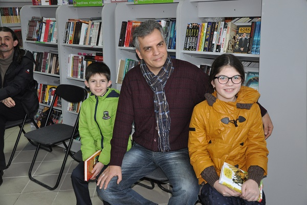 «Казки і казкарі»: секретами поділився письменник Олександр Гаврош