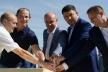 На Тернопільщині заклали капсулу під будівництво «Водної арени»