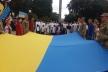 На Театральному майдані відсвяткували День Прапора України (Фото)