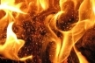 У Тернополі горить сміття
