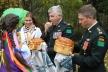 Як у Хоросткові військовий інструктор з Канади знайшов своїх родичів на свято козацької Покрови