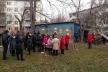 «Тітушки» та поліція: на Карпенка знову протести через забудову