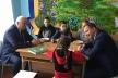 Степан Кубів і Степан Барна пообідали разом з учнями у шкільній їдальні (Фото)