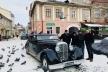 Раритетні автомобілі Тернопільського «Ретрокортежу» у зйомках фільму «Червоний. Без лінії фронту»