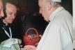 Папа Римський прийняв дарунок дітей-сиріт з Тернопільщини