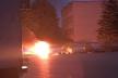 В Тернополі горіла автівка керівника від Радикальної партії в місті Романа Мацюка (Відео)
