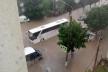 Після дощу в Чорткові на Тернопільщині плавав автобус (Відео, Фото)