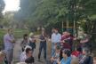 Незаконна забудова біля  «Березолю»: на збори громади завітали депутати від «Самопомочі» (Відео, фото)