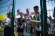 У Ласківцях відкрили новий футбольний майданчик зі штучним покриттям (Фото)