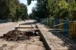 У Бережанах обвалився міст через річку (Фото)
