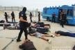 У Києві поліція затримала близько чотирьох десятків озброєних осіб