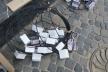 На тернопільській вулиці встановлюють унікальні ліхтарики