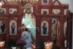На Тернопільщині під час служби в кременецькому храмі з'явилася веселка