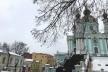 У Києві невідомі намагались спалити Андріївську церкву (Фото)