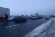 У Тернополі «євробляхи» перекрили рух транспорту на міжнародній трасі (Фото, відео)
