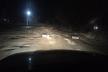 У селі Біла на Тернопільщині ями на дорозі позакладали автомобільними шинами