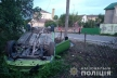 В Шумську автомобіль перекинувся на город