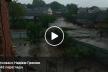 Сотні тисяч переглядів: Річка ринула у село на Тернопільщині (Відео)
