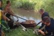На Лановеччині худобу рятували з болотяної пастки