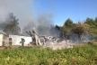 На Кременеччині пожежу гасили всім селом (Фото)