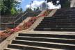 Пандус в парку Національного Відродження зі сторони  «літака» просять встановити тернополяни