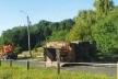 На Микулинецькій у Тернополі перекинувся сміттєвоз (Відео)