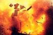 У Бережанському районі під час пожежі пролунав вибух