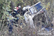 Біля Струсова автомобіль врізався в дерево. Водійка і пасажирка – мертві (Відео)