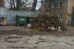 У Ланівцях більше місяця комунальники не вивозять сміття