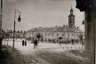 Ратуша та ринок в Бережанах на столітніх фото