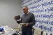 У Тернопільському прес-клубі відбулась творча зустріч із Романом Островським