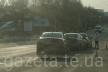 У Тернополі біля озера зіткнулись три автівки