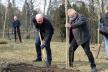 У двох парках Тернополя висадили клени