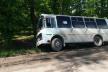 На Тернопільщині рейсовий автобус злетів у кювет (Фото)