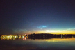 Тернополяни пізно ввечері спостерігають рідкісне атмосферне явище - сріблясті хмари