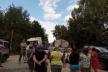Вантажівки руйнують дорогу: на Тернопільщині люди перекрили дорогу зерновозам