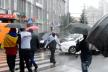 Тернопільські радикали в знак протесту перекрили вулицю у середмісті