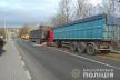 На Тернопільщині  ДТП: зіткнулися дві  вантажівки