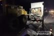 На Тернопільщині  вантажівка врізалася в автогрейдер