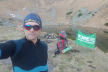 Екологічну акцію у Карпатах організував тернополянин: Біля озера Бребенескул зібрано більше 60 кг сміття