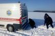 Прямувала на виклик: на Тернопільщині автомобіль швидкої допомоги потрапив у снігову пастку