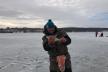 Спортивний сезон ловлі риби з криги закрили на Тернопільському ставі чемпіонатом «Микулинецький бровар»
