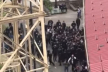 Масова бійка фанатів футболу з поліцією у Тернополі (Відео)