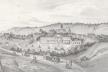 Місто Чортків на малюнку 1840 року